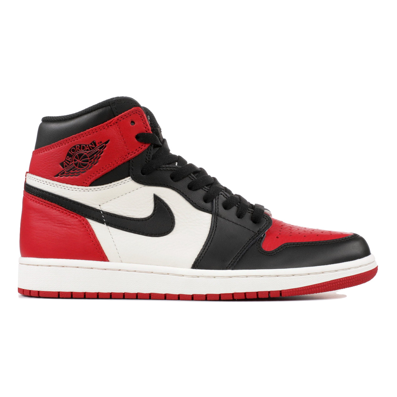 Air Jordan 1 Retro High OG - Bred Toe