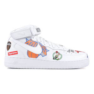 Air Force 1 Mid '07 / Supreme - White