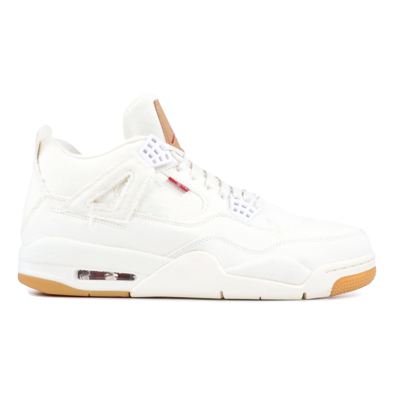 Air Jordan 4 Retro Levi's NRG - White (Levi's Tag)