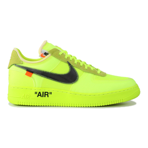 The 10: Nike Air Force 1 Low OFF WHITE - Volt