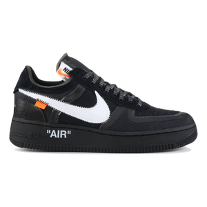 The 10: Nike Air Force 1 Low OFF WHITE - Black