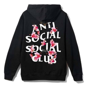 ASSC KKOCH Zip Up Hoodie - Black