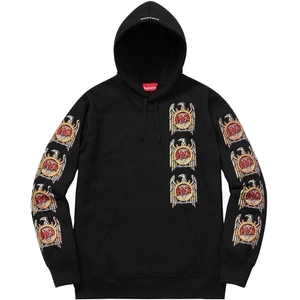 Supreme Slayer Eagle Hoodie - Black - Used