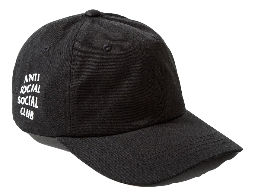 Anti Social Social Club - Weird Cap Black