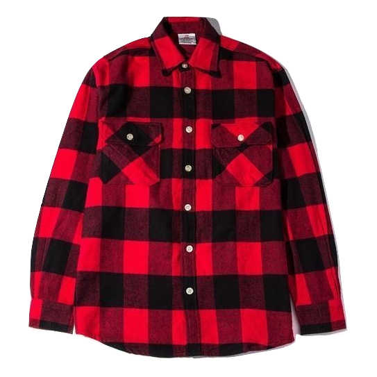 ASSC No Expectation Flannel - Red - Used