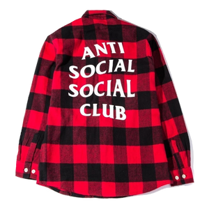 ASSC No Expectation Flannel - Red