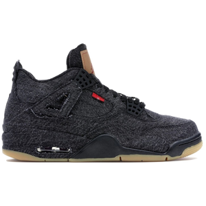 Air Jordan 4 Retro Levi's NRG - Black (Blank Tag)