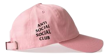 Anti Social Social Club Weird Cap -  Pink - Used