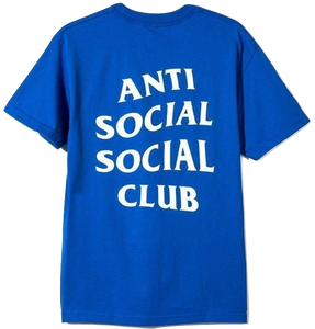 Anti Social Social Club Logo Tee 2 - Blue