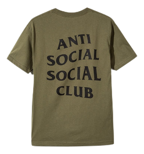 Anti Social Social Club Logo Tee 2 - Military Green