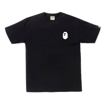 A Bathing Ape Bicolor Multi Logo Tee - Black - Used