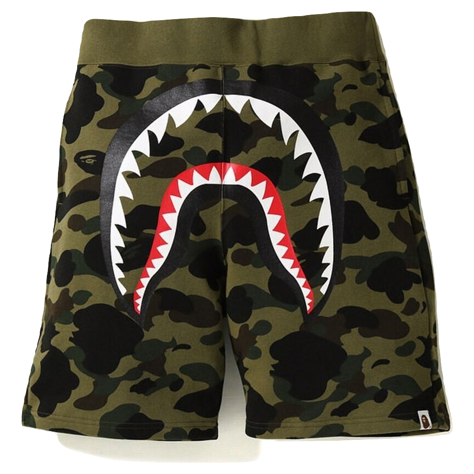 A Bathing Ape 1st Camo Shark Sweat - Green Camo