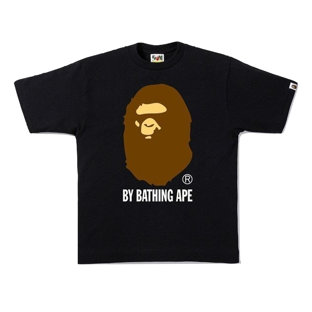 A Bathing Ape By Bathing Tee - Black - Used