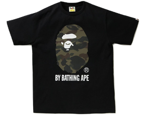 28f6a79d A Bathing Ape Reflector 1st Camo By Bathing Tee - Black/Green Camo ...