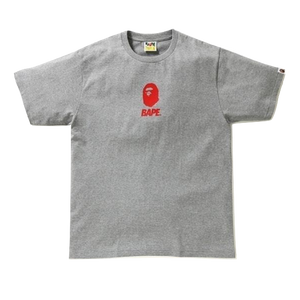 A Bathing Ape Rubber Soldier Tee - Gray