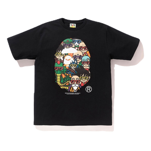 Bape x Dragon Ball Z LA Exclusive Ape Head T-Shirt - Black