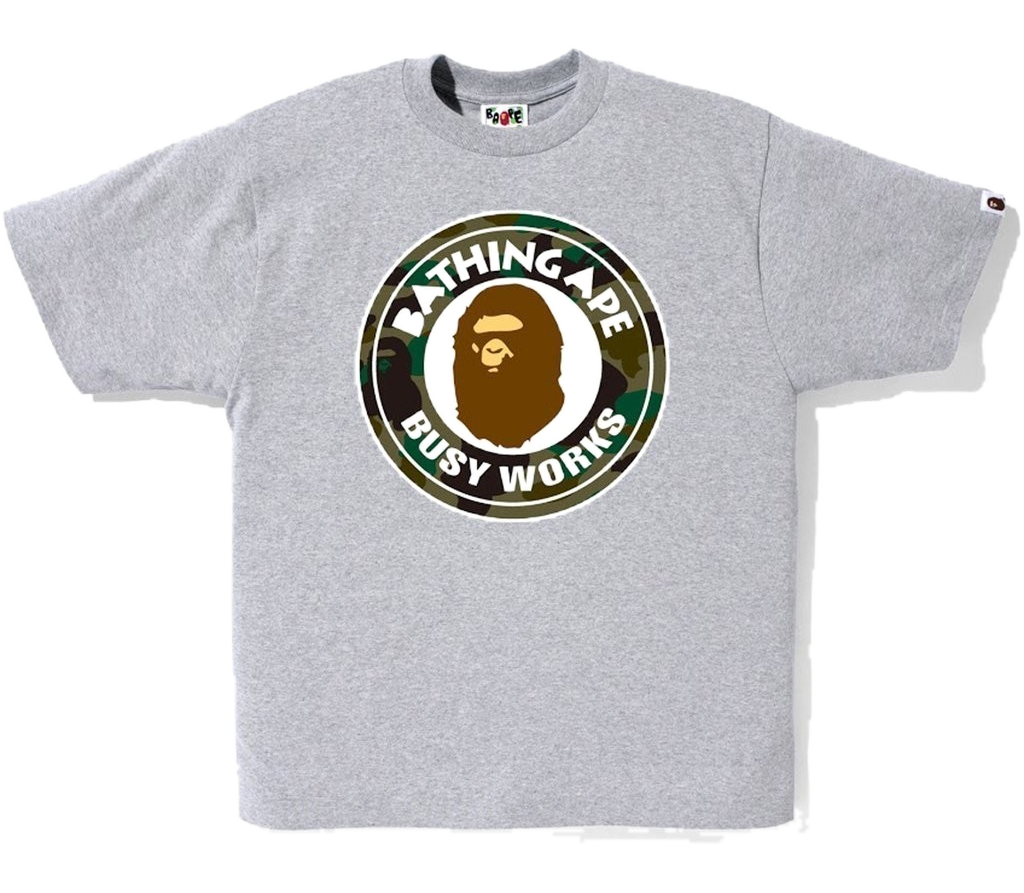 Bape Busy Works Tee - Camo