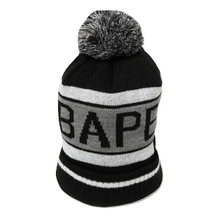 Bape Knit Cap - Black
