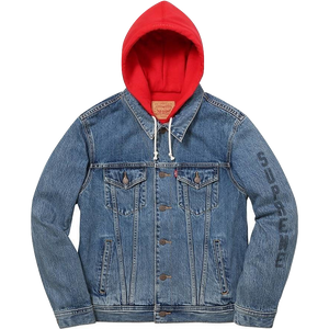 Supreme x Levis Denim Jacket Blue