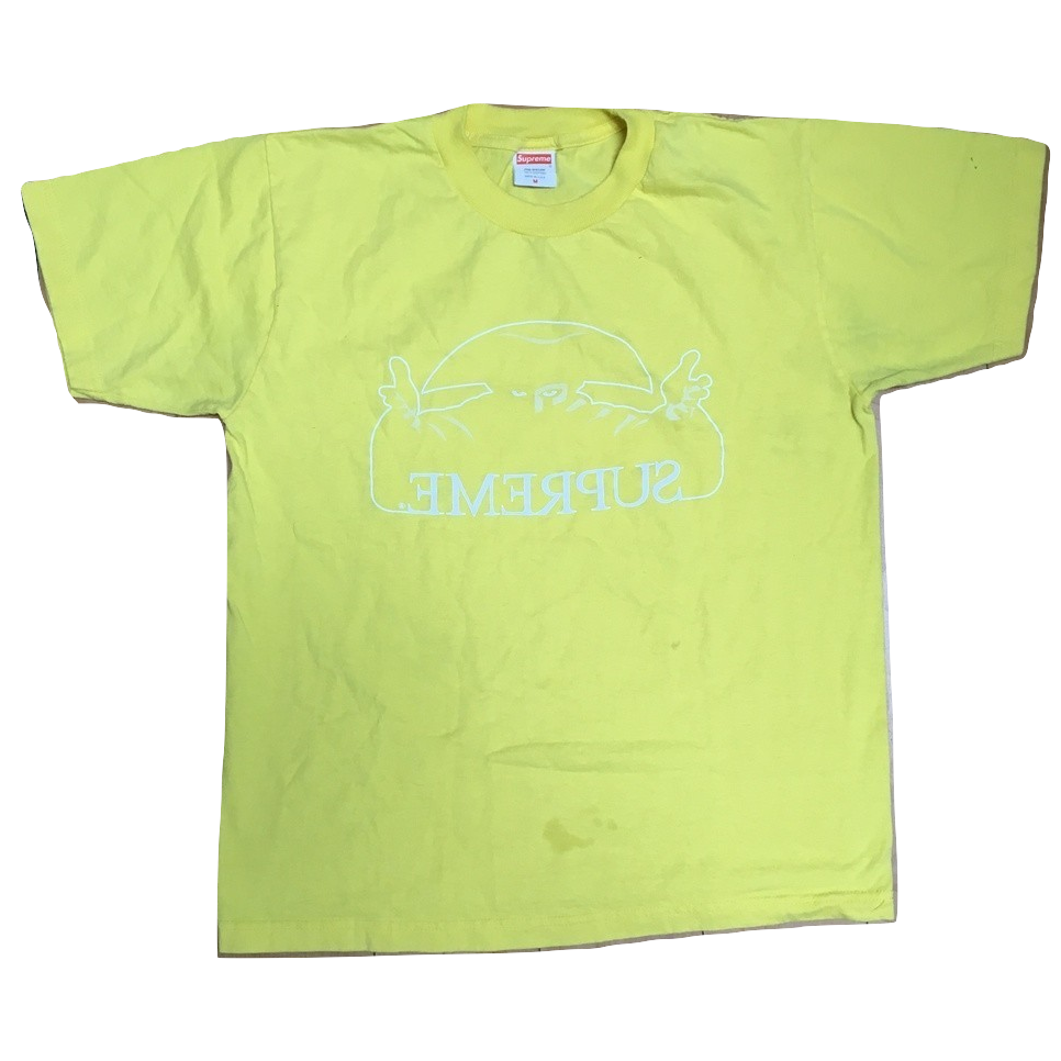 Supreme Amadaeus Tee - Yellow - Used