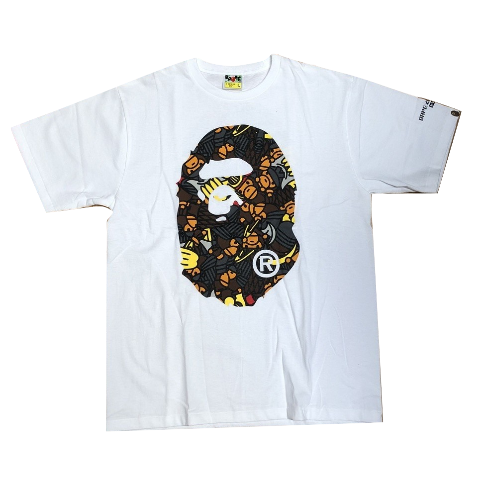 A Bathing Ape Kyoto Exclusive Big Ape Tee - White