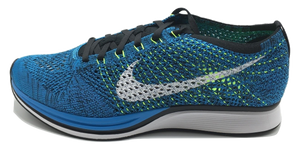 Nike Flyknit Racer- Blue Cactus