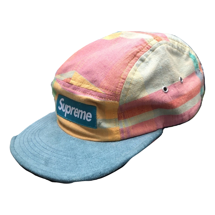 Supreme Madras Camp Cap SS13 - Multi - Used