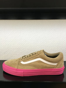 "Old Skool Pro ""S""-Golf Wang Wheat/Pink"