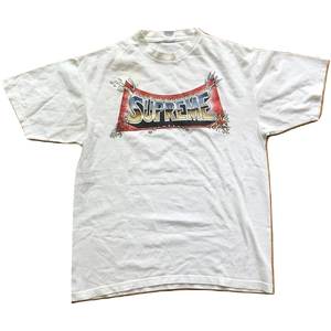 Supreme x Pedro Bell Blockbuster Tee - White - Used