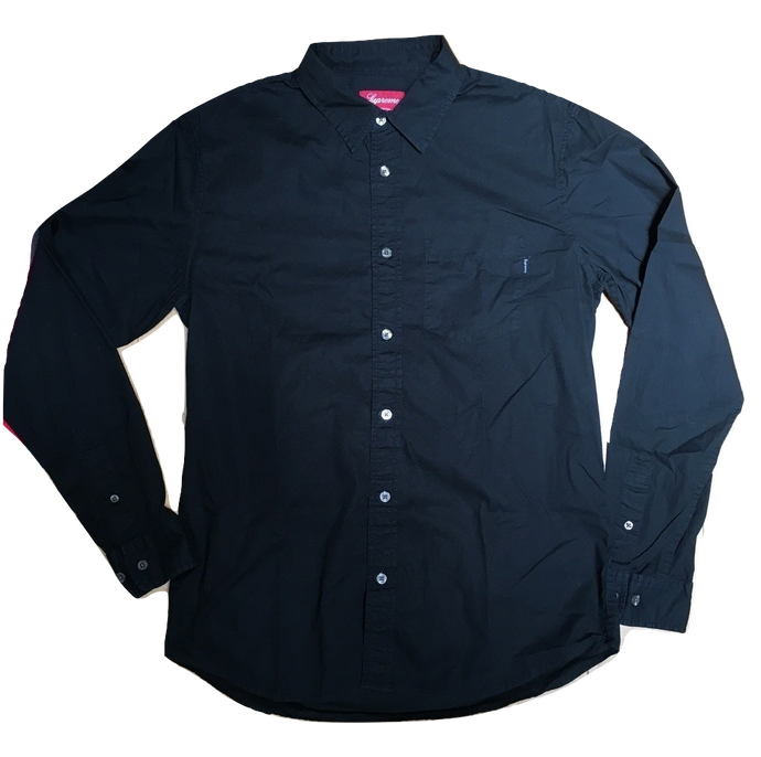 b9399f71291 Supreme Divide And Conquer Button Up Shirt - Black - Used