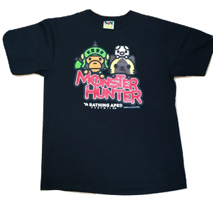 Bape Baby Milo Monster Hunter Tee - Black
