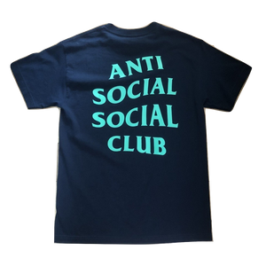 Anti Social Social Club Jeopardy Tee - Navy
