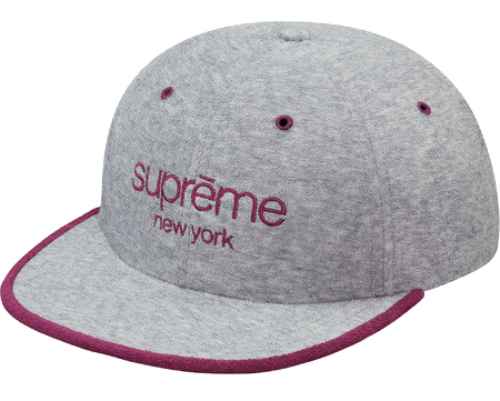 Supreme Terry Classic Logo 6-Panel