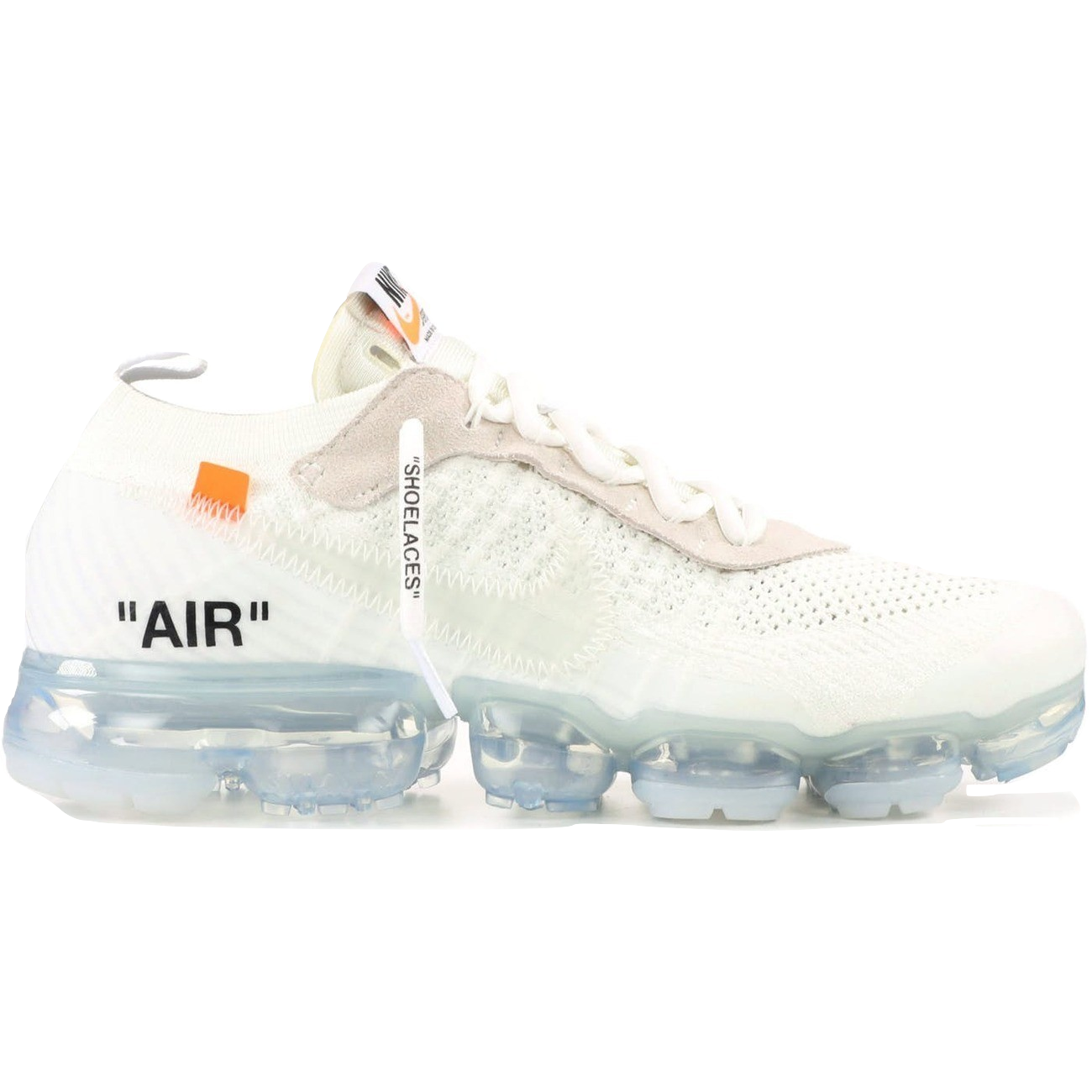 new arrival 5ae61 44c65 The 10  Nike Air Vapormax FK OFF WHITE - White