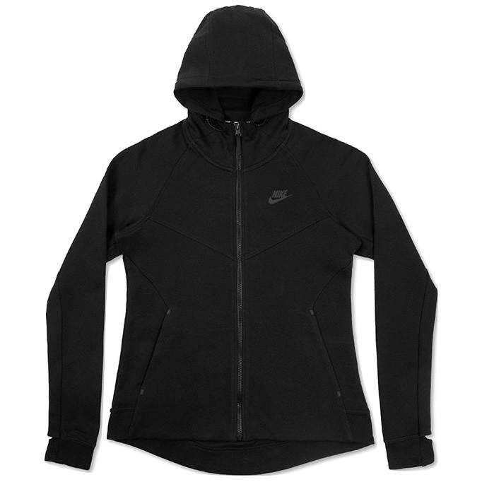 Nike Women's Sportswear Tech Fleece Hoodie - Black