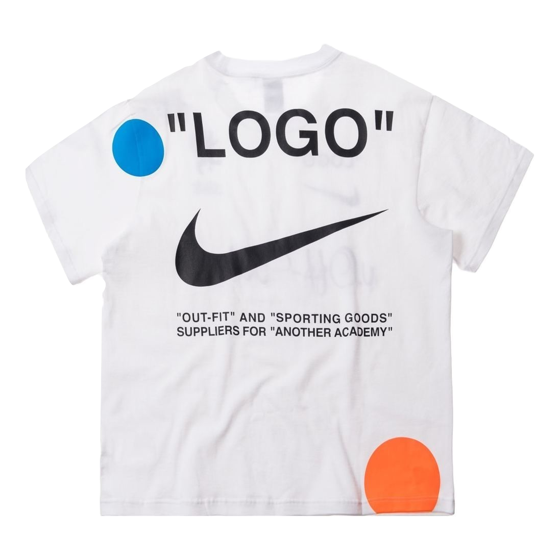 Nike Lab x OFF WHITE Mercurial NRG X Tee White