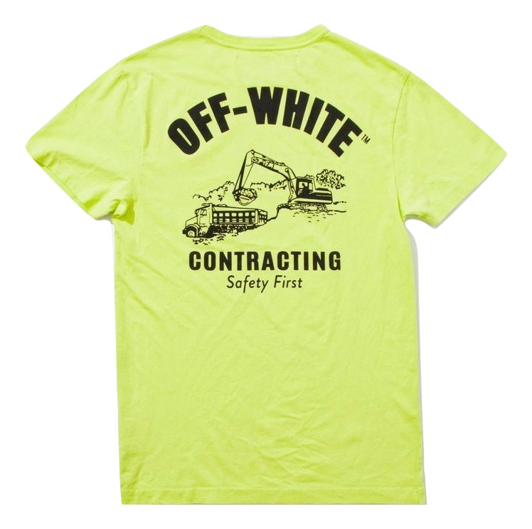 OFF-WHITE Construction Tee
