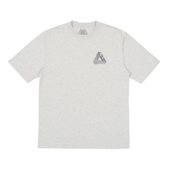 Palace P3-D T-Shirt (Ultimo 2017) - Grey Marl