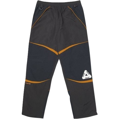 Palace P-Dura Shell Bottoms - Black/Grey/Orange