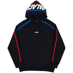 Palace S-Line Hood - Black/Blue/Red - Used