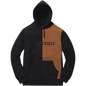 Supreme Split Old English Hooded Sweatshirt
