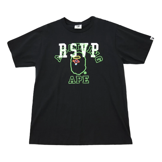 A Bathing Ape x RSVP 10th Anniversary Tee - Black - Used