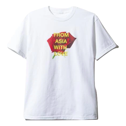 Anti Social Social Club From Asia With Love Tee - White