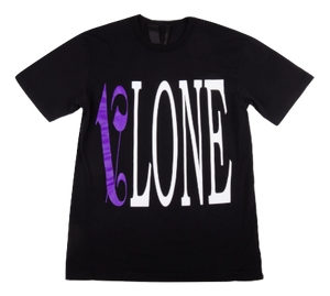 VLone Palm Angels Tee - Black/Purple - Used