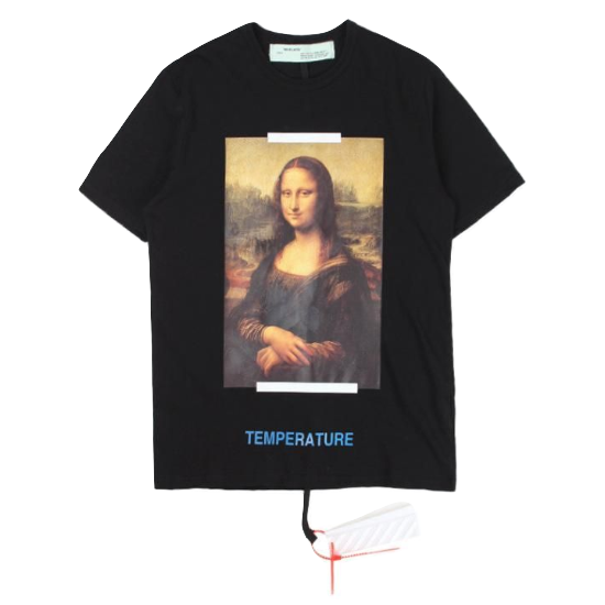 Off-White Mona Lisa Tee - Black