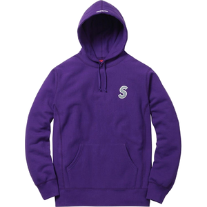 Supreme 3M Reflective S Logo Hooded Sweatshirt - Purple