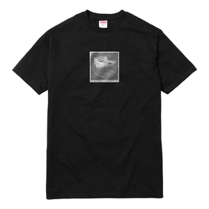 Supreme Chair Tee - Black