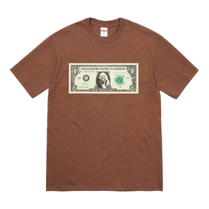 Supreme Dollar Tee - Brown