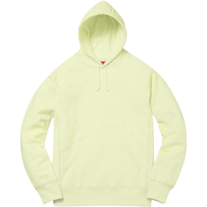 Supreme Embossed Logo Hooded Sweatshirt - Pale Lime