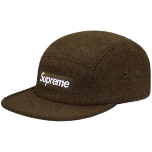 Supreme Featherweight Wool Camp Cap - Olive